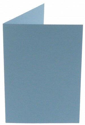 (No. 309964) 6x kaart dubbel staand Original 105x148mm A6 lichtblauw 200 grams (FSC Mix Credit)