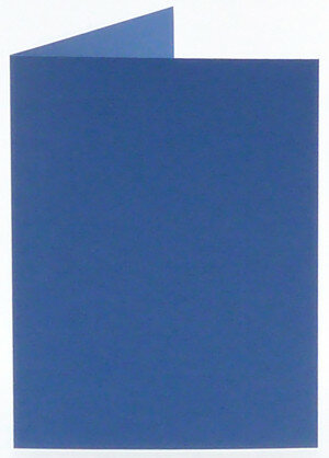 (No. 309972) 6x kaart dubbel staand Original 105x148mm A6 royal blue 200 grams (FSC Mix Credit)