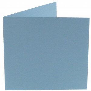 (No. 310964) 6x kaart dubbel Original 132x132mm lichtblauw 200 grams (FSC Mix Credit)