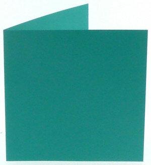 (No. 310966) 6x kaart dubbel Original 132x132mm turquoise 200 grams (FSC Mix Credit)
