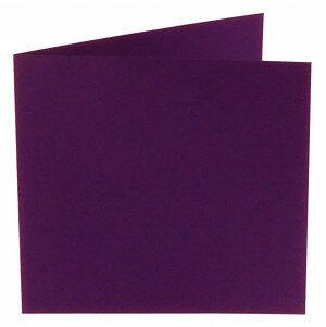 (No. 310968) 6x kaart dubbel Original 132x132mm violetta 200 grams (FSC Mix Credit)