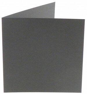 (No. 310971) 6x kaart dubbel Original 132x132mm donkergrijs 200 grams (FSC Mix Credit)