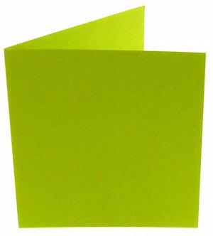 (No. 311967) 6x kaart dubbel staand Original 152x152mm appelgroen 200 grams (FSC Mix Credit)