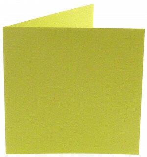 (No. 311970) 6x kaart dubbel staand Original 152x152mm zachtgroen 200 grams (FSC Mix Credit)