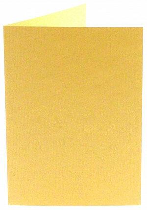 (No. 313963) 6x kaart dubbel staand Original 148x210mm A5 vanille 200 grams (FSC Mix Credit)