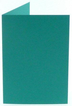 (No. 313966) 6x kaart dubbel staand Original 148x210mm A5 turquoise 200 grams (FSC Mix Credit)