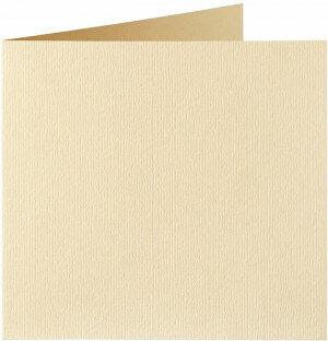 (No. 310963) 6x kaart dubbel Original 132x132mm vanille 200 grams (FSC Mix Credit)