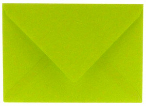 (No. 330967) 6x envelop 125x180mm B6 Original appelgroen 105 grams (FSC Mix Credit)
