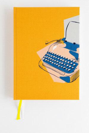 (No. 830702) Bullet journal Graphic Typewriter