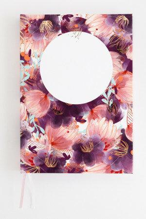 (No. 830706) Bullet journal Romantic Flower