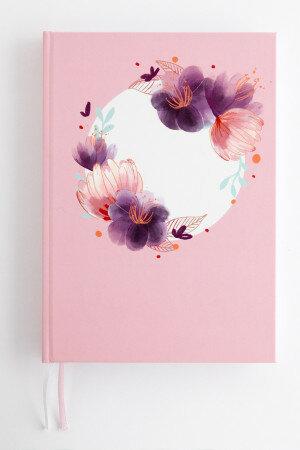 (No. 830708) Bullet journal Romantic Circle