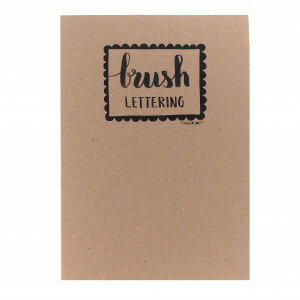 (No. 214400) A4 Oefenblok Brushlettering