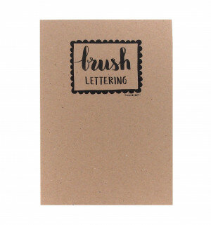 (No. 215400) A5 Oefenblok Brushlettering