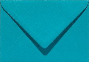 (No. 237932) 50x envelop 114x162mm-C6 Original turkoois 105 grams (FSC Mix Credit) OP=OP