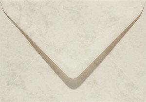 (No. 23762) 50x envelop Marble 114x162mm-C6 ivoor 90 grams