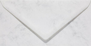 (No. 23861) 50x envelop Marble 110x220mm-DL grijswit 90 grams
