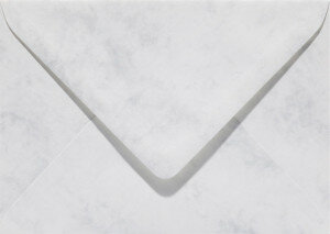 (No. 23561) 50x envelop Marble 156x220mm-EA5 grijswit 90 grams