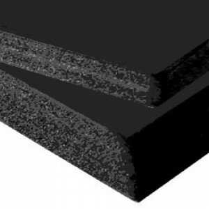 (No. 285521) 1 vel foambord 10mm 210x297mm-A4 zwart