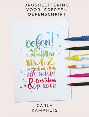 (No. 840200) Kleur! Brushlettering Oefenschrift