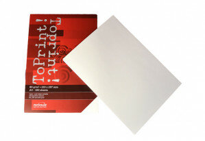 (No. 7128300) 100x papier ToPrint 80gr 210x297mm-A4 White(FSC Mix Credit)