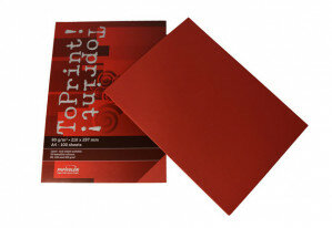 (No. 7128309) 100x papier ToPrint 80gr 210x297mm-A4 Red(FSC Mix Credit)