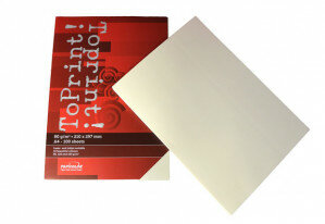 (No. 7128311) 100x papier ToPrint 80gr 210x297mm-A4 Ivory(FSC Mix Credit) - UITLOPEND-