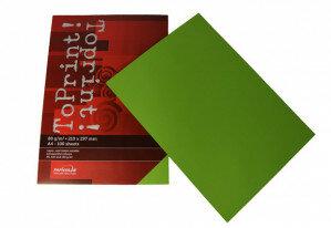 (No. 7128318) 100x papier ToPrint 80gr 210x297mm-A4 Grass green(FSC Mix Credit)- UITLOPEND-