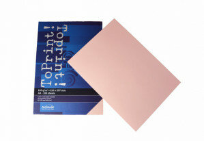 (No. 7138302) 100x papier ToPrint 120gr 210x297mm-A4 Rosa(FSC Mix Credit) - UITLOPEND-