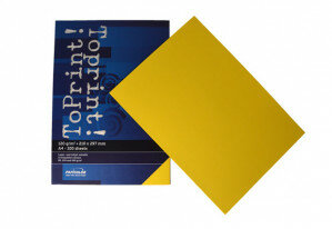 (No. 7138305) 100x papier ToPrint 120gr 210x297mm-A4 Limon(FSC Mix Credit) - UITLOPEND-