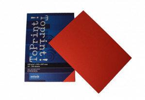 (No. 7138309) 100x papier ToPrint 120gr 210x297mm-A4 Red(FSC Mix Credit)