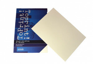 (No. 7138311) 100x papier ToPrint 120gr 210x297mm-A4 Ivory(FSC Mix Credit)