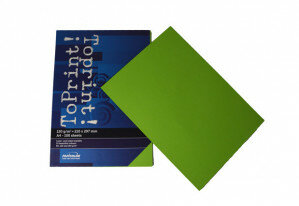 (No. 7138318) 100x papier ToPrint 120gr 210x297mm-A4 Grass green(FSC Mix Credit)