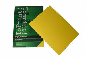 (No. 7148305) 50x karton ToPrint 160g 210x297mm-A4 Limon(FSC Mix Credit) - UITLOPEND-