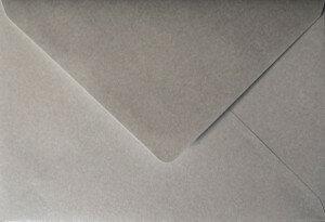 (No. 235340) 50x envelop Original Metallic 156x220mm-EA5 Platinum Pearl 120 grams