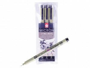 (No. XSDK3FD) Pigma Micron Design Set 3 st.