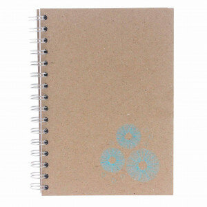 (No. 830302) A5 Bulletjournal Sea Urchin Fluting Grey