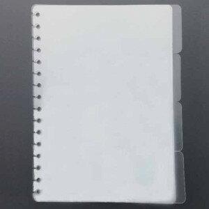 (No. 830201) A5 Tabsheets viervoud - half transparent