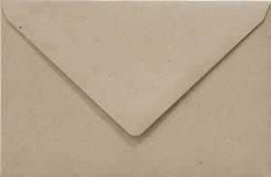 (No. 263322) 50x envelop Original 125x140mm recycled grijs 100 grams (FSC Recycled Credit)