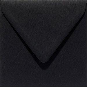 (No. 258901) 50x envelop Original 140x140mm ravenzwart 105 grams (FSC Mix Credit)