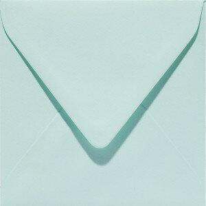 (No. 303917) 6x envelop Original 140x140mm zeegroen 105 grams (FSC Mix Credit)