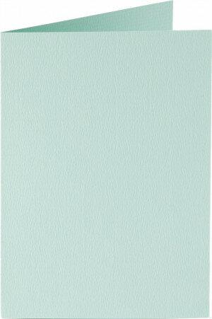 (No. 309917) 6x kaart dubbel staand Original 105x148mmA6 zeegroen 200 grams (FSC Mix Credit)