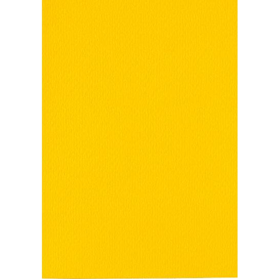 (No. 301910) 6x cardboard Original 210x297mmA4 buttercupyellow 200 gsm (FSC Mix Credit)