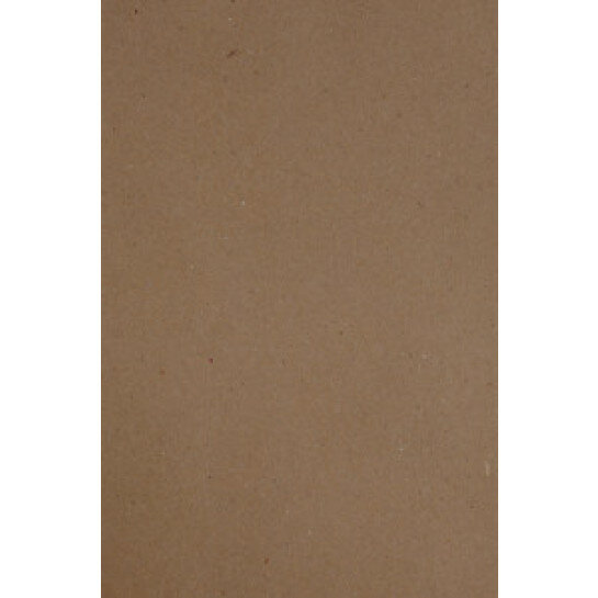 (No. 300323) 12x papier A4 recycled kraft bruin 210 x 297 mm - 90 grams (FSC Recycled Credit)