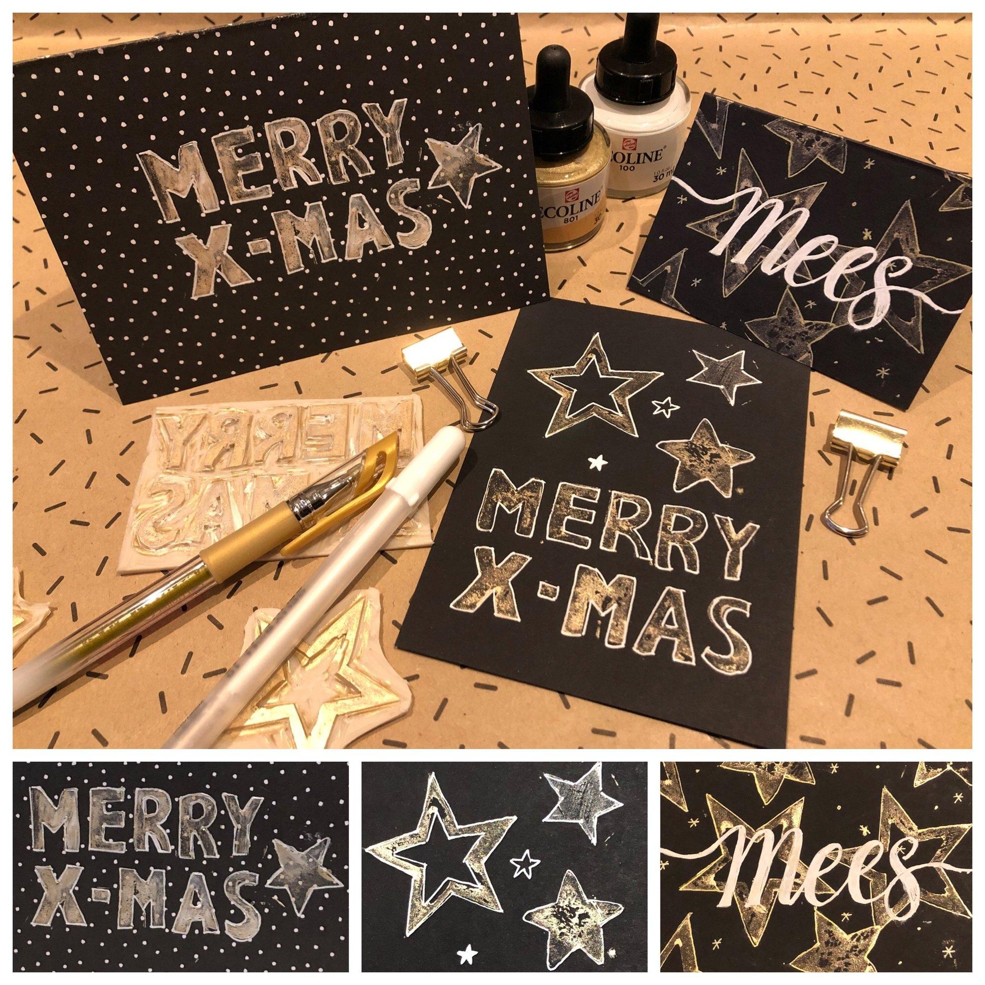 Je eigen kerstdecoratie maken met de DIY X-mas box van Paperfuel!