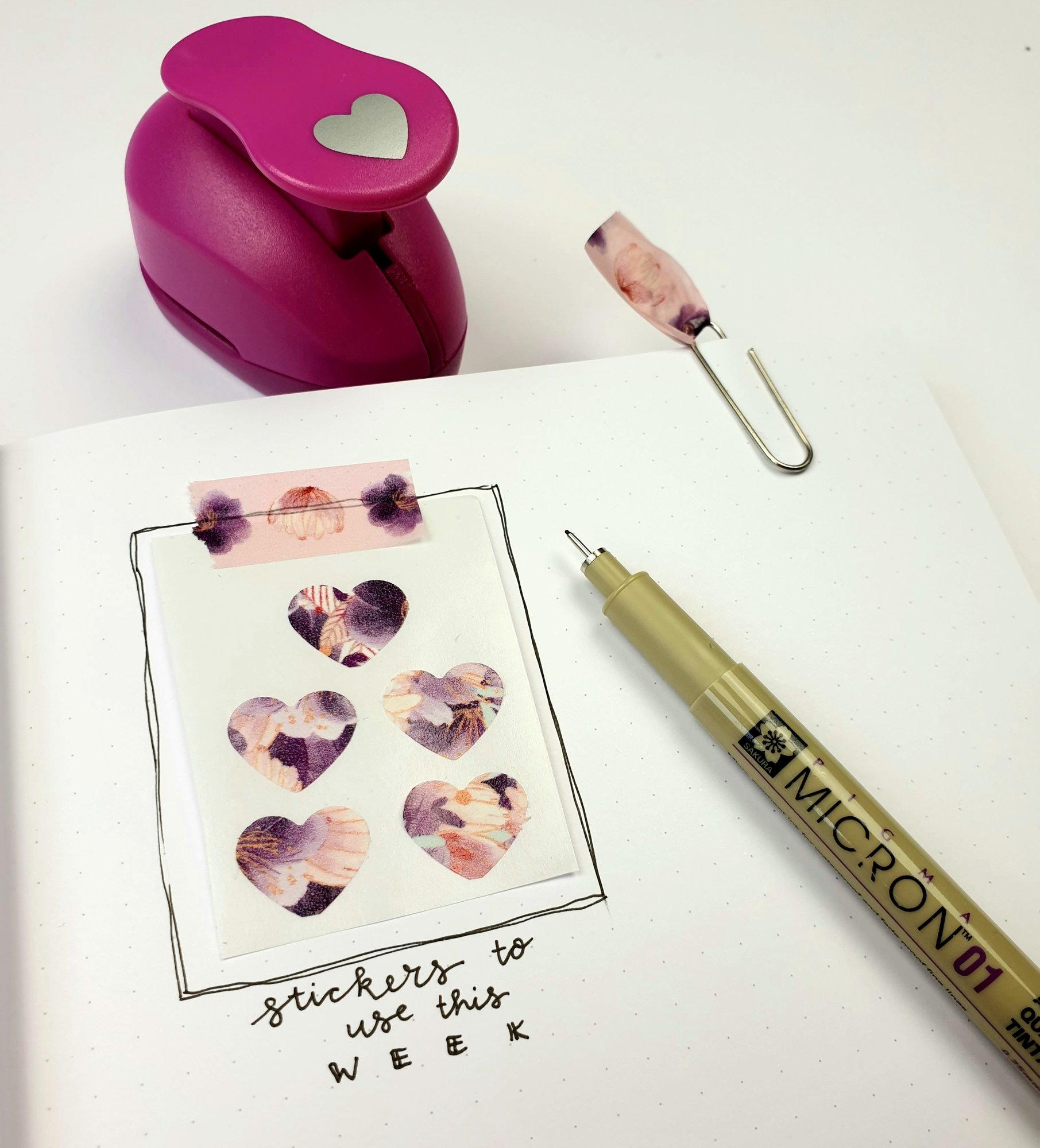 3 creatieve Washi Tape ideeën!
