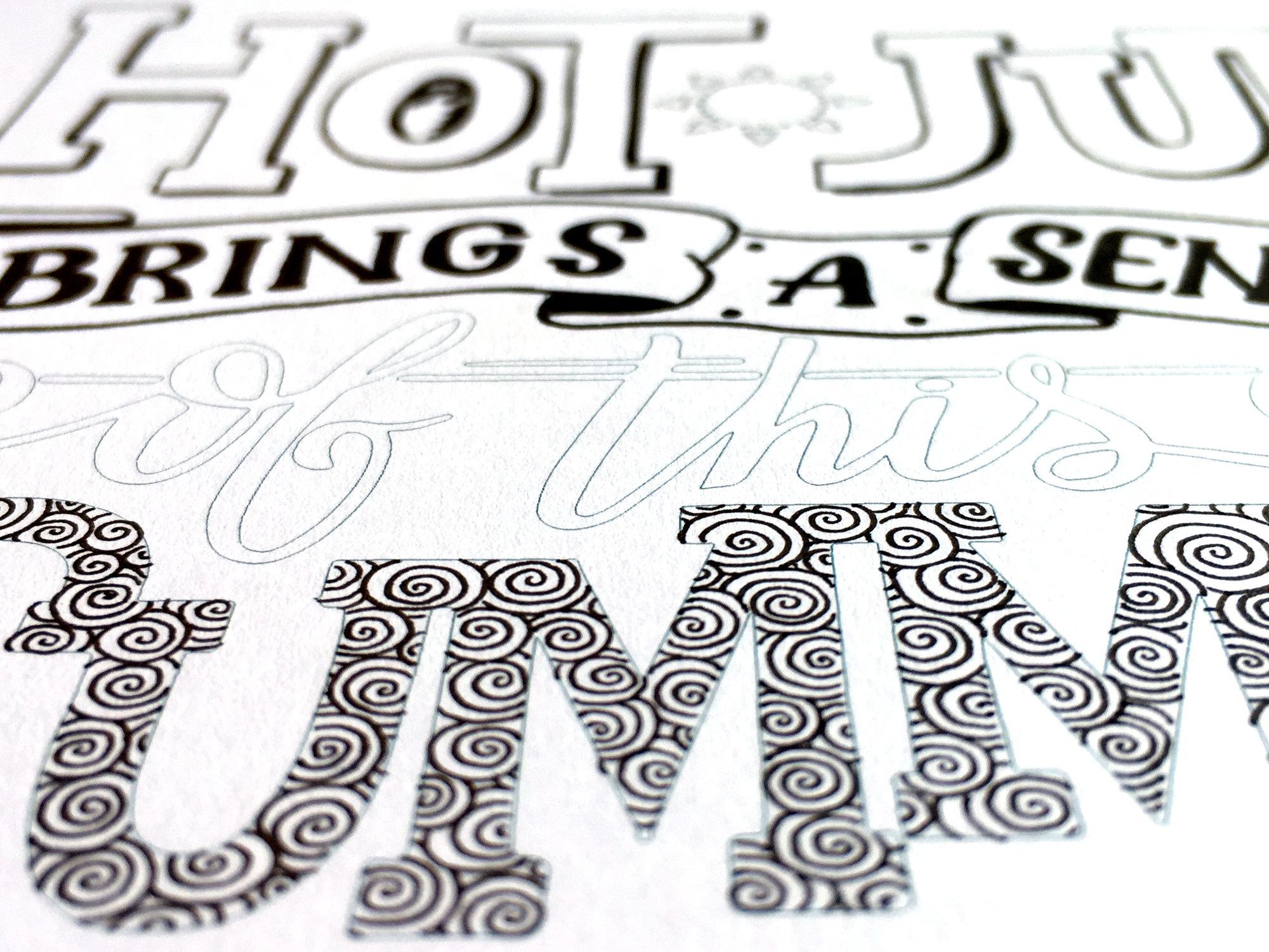 kleurplaat kalligrafie letters 28 afbeeldingen